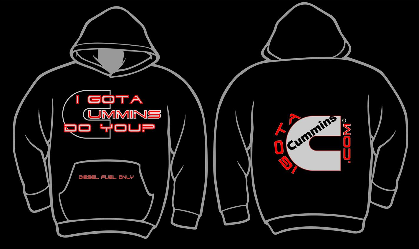 Please visit our store to purchase all your IGOTACUMMINS.COM Apparel & Stickers.